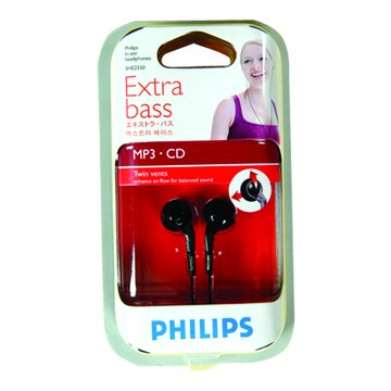 PHILIPS 飛利浦 HE-2550耳塞式耳機(福利品出清)