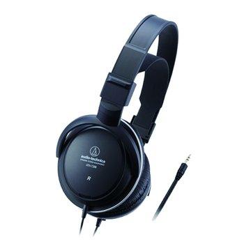 audio-technica 鐵三角 T200(黑)動態頭戴式耳機(福利品出清)