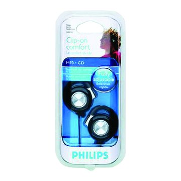 PHILIPS 飛利浦 SHS4700(黑)耳掛式運動型耳機(福利品出清)