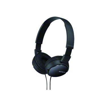 SONY 新力牌MDR-ZX110(黑)多彩耳罩式耳機