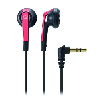 audio-technica 鐵三角C505 RD(紅)耳塞式耳機