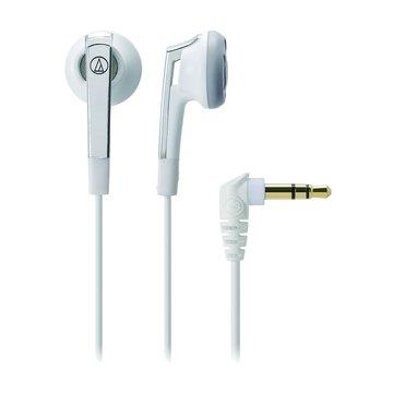 audio-technica 鐵三角C505 WH(白)耳塞式耳機