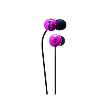 audio-technica 鐵三角CKF303PK(粉紅)鑽石型耳道式耳機(福利品出清)