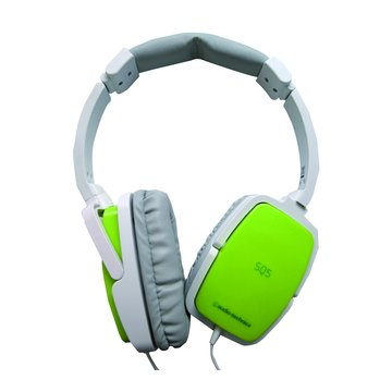 audio-technica 鐵三角SQ5 LGR(淺綠)頭戴式耳機 (福利品出清)