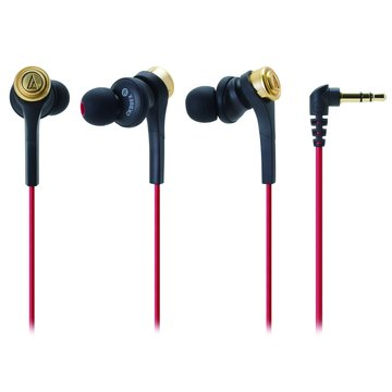 audio-technica 鐵三角 CKS55X(金)重低音耳道式耳機(福利品出清)