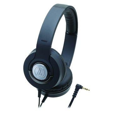 audio-technica 鐵三角 WS33X BK(黑)攜帶式耳機(福利品出清)