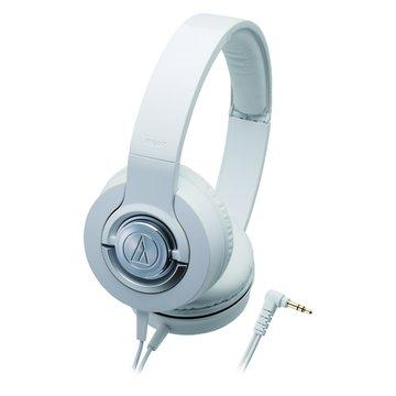 audio-technica 鐵三角 WS33X WH(白)攜帶式耳機(福利品出清)