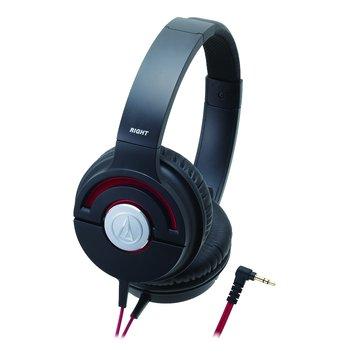 audio-technica 鐵三角WS55X BRD(紅)攜帶頭戴式耳機(福利品出清)