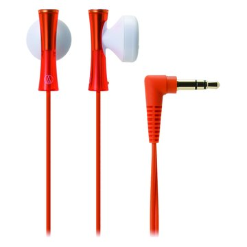 audio-technica 鐵三角 J100 OR(橘)耳塞式耳機(福利品出清)