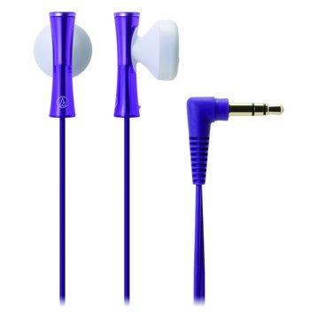 audio-technica 鐵三角 J100 PL(紫)耳塞式耳機(福利品出清)