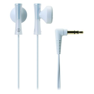 audio-technica 鐵三角 J100 WH(白)耳塞式耳機(福利品出清)
