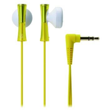 audio-technica 鐵三角 J100 YL(黃)耳塞式耳機(福利品出清)