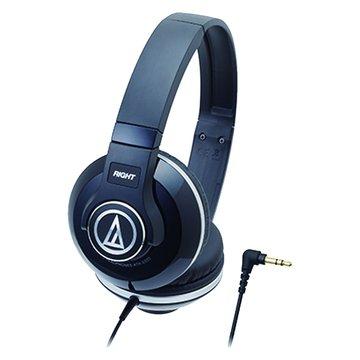 audio-technica 鐵三角S500 BK(黑)攜帶頭戴式耳機(福利品出清)