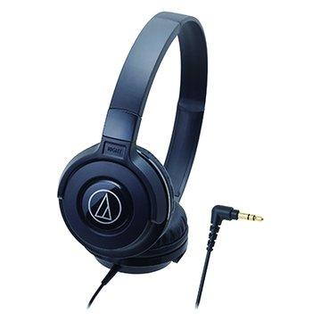 audio-technica 鐵三角S100 BK(黑)攜帶頭戴式耳機