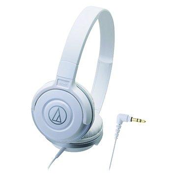audio-technica 鐵三角S100 WH(白)攜帶頭戴式耳機