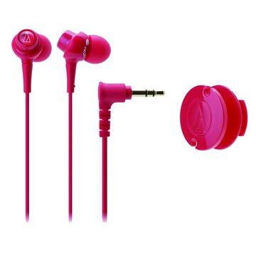 audio-technica 鐵三角CKL203 RD(紅)耳塞式耳機(福利品出清)
