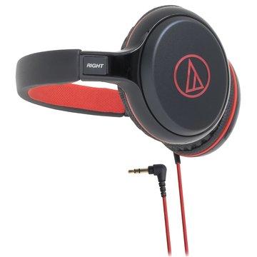 audio-technica 鐵三角S600 RD(紅)攜帶式耳機