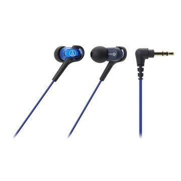 audio-technica 鐵三角CKB50(藍)平衡電樞耳道式耳機