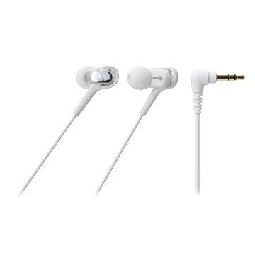 audio-technica 鐵三角CKB50(白)平衡電樞耳道式耳機