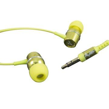 avier 炫彩鋁合金(綠)入耳式耳機