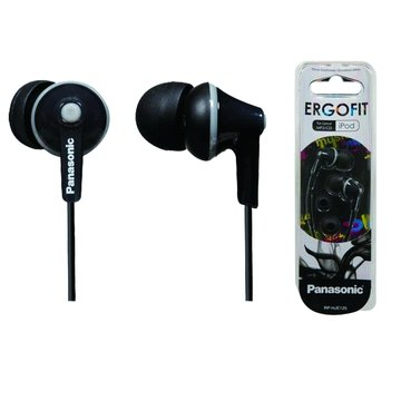 Panasonic  國際牌HJE-125(黑)耳道式耳機