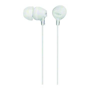SONY 新力牌MDR-EX15LP-W(白)輕巧耳道式耳機