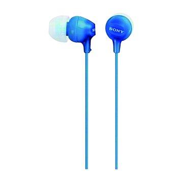 SONY 新力牌MDR-EX15LP-LI(藍)輕巧耳道式耳機