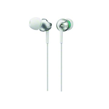 SONY 新力牌 MDR-EX110LP-W(白)入耳式耳機(福利品出清)
