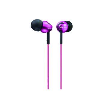 SONY 新力牌 MDR-EX110LP-PI(深粉)入耳式耳機