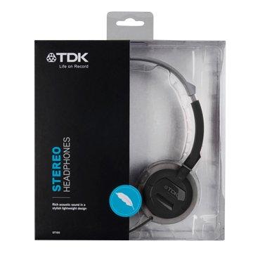 TDK ST100(黑)耳罩式耳機(福利品出清)