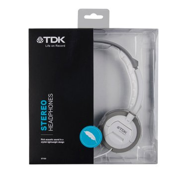 TDK ST100(白)耳罩式耳機(福利品出清)
