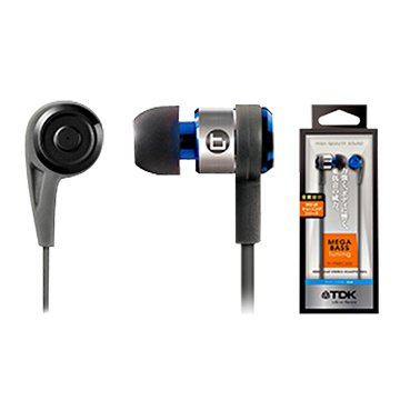 TDK CLEF-P2(藍)重低音耳道式耳機