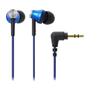 audio-technica 鐵三角CK330M(藍)入耳式耳機