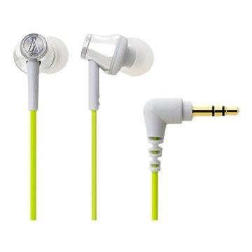 audio-technica 鐵三角CK330M(銀綠)入耳式耳機