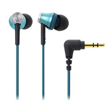 audio-technica 鐵三角CK330M(淺藍)入耳式耳機