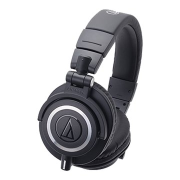 audio-technica 鐵三角M50x BK(黑)專業監聽耳機