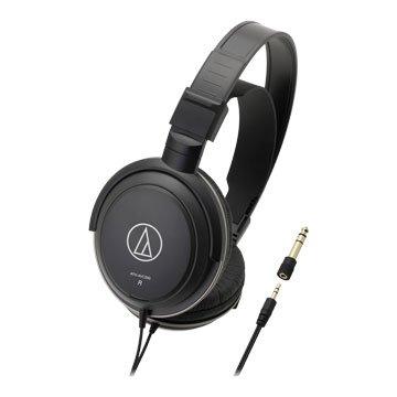 audio-technica 鐵三角AVC200(黑)密閉動圈型耳機