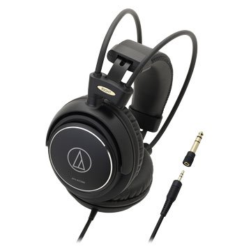 audio-technica 鐵三角AVC500(黑)密閉動圈型耳機