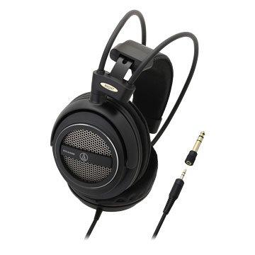 audio-technica 鐵三角AVA500(黑)開放動圈型耳機