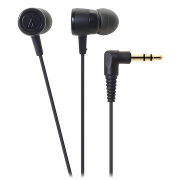 audio-technica 鐵三角CKL220 BK(黑)入耳式耳機