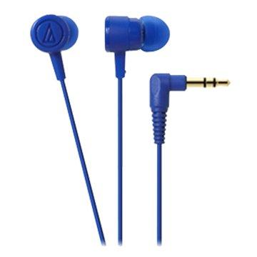 audio-technica 鐵三角CKL220 BL(藍)入耳式耳機