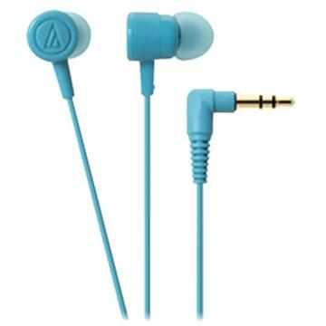 audio-technica 鐵三角CKL220 LBL(淺藍)入耳式耳機