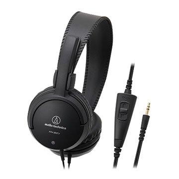 audio-technica 鐵三角 ATH-350TV(黑)動圈型耳機