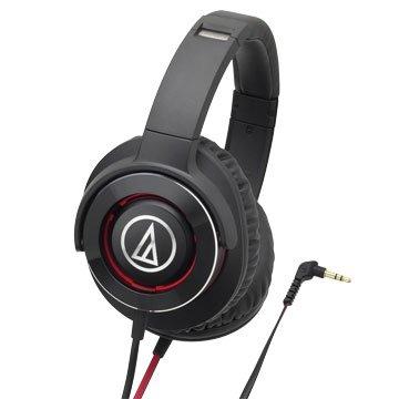 audio-technica 鐵三角WS770 BRD(黑紅)攜帶式耳機