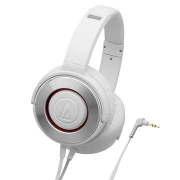 audio-technica 鐵三角WS550 WH(白)攜帶式耳機