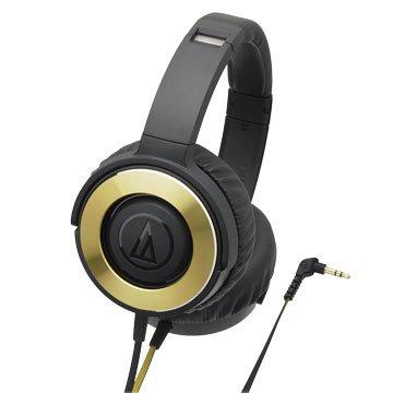 audio-technica 鐵三角WS550 BGD(金)攜帶式耳機