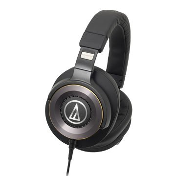 audio-technica 鐵三角WS1100(黑)攜帶式耳機