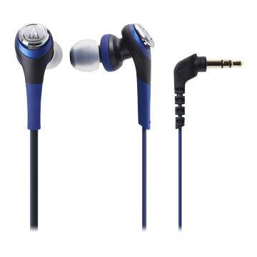 audio-technica 鐵三角CKS550 BL(藍)入耳式耳機