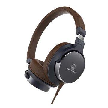 audio-technica 鐵三角SR5 NBW(棕)便攜型耳罩式耳機