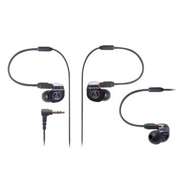 audio-technica 鐵三角 IM02(黑)雙單體平衡電樞耳機(福利品出清)